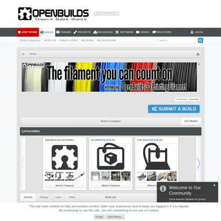 Build List - OpenBuilds