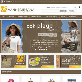 Le grossiste panier spécialiste en vannerie - Vannerie Sana - Vannerie Sana