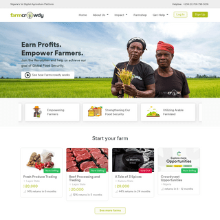 Farmcrowdy - Home
