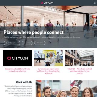 Citycon - Enriching urban crosspoints