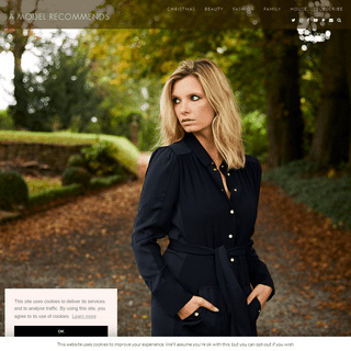 A Model Recommends - Ruth Crilly's Blog