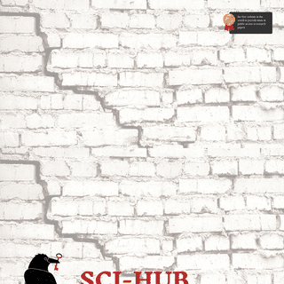 Sci-Hub- removing barriers in the way of science