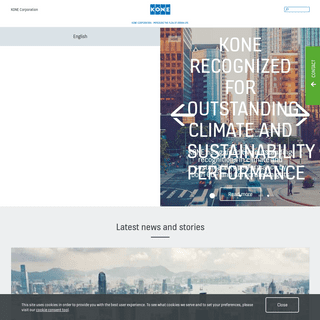 KONE Corporation - Improving the Flow of Urban Life.
