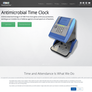 Time and Attendance - TimeClock Plus
