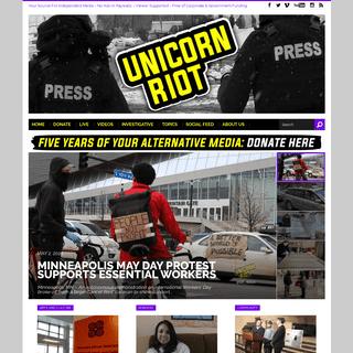 UNICORN RIOT - Your Alternative Media