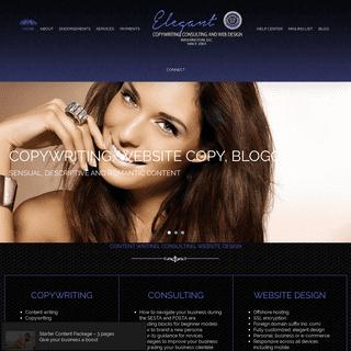 ArchiveBay.com - elegantcopywriting.com - Renowned Escort Copywriting - Website Design - Marketing - SEO - Consulting