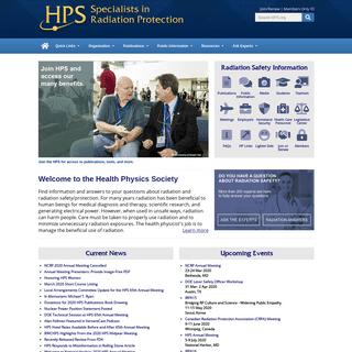 The Health Physics Society