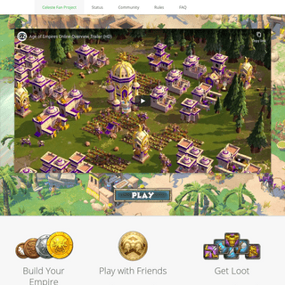 Age of Empires Online – Celeste Fan Project
