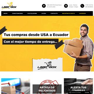 LAARBOX - Traemos tus compras de USA a ECUADOR