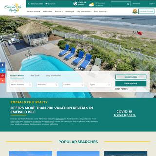 Emerald Isle Vacation Rentals & Real Estate - Emerald Isle Realty