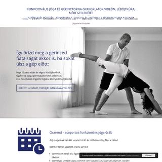 ArchiveBay.com - vadaszakos.hu - Funkcionális jóga és gerinctorna gyakorlatok, videók, hátfájásra