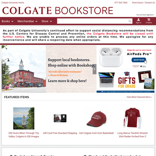 Welcome - Colgate University Bookstore