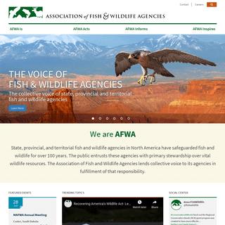 ArchiveBay.com - fishwildlife.org - Home -- Association of Fish & Wildlife Agencies