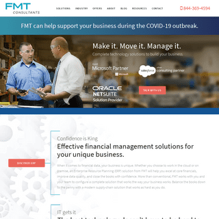 FMT Consultants - Complete technology solutions to build your business