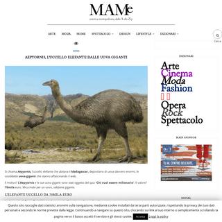 ArchiveBay.com - www.mam-e.it/news-selezionate/aepyornis-uccello-elefante-uova-giganti/ - AEPYORNIS, L'UCCELLO ELEFANTE DALLE UOVA GIGANTI - MAM-E