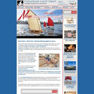 Chesapeake Light Craft - Boat Plans, Boat Kits, Boatbuilding Supplies, Boat Kit, Kayak Kit, Canoe Kit, Sailboat Kit