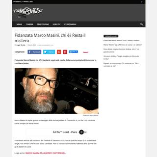 ArchiveBay.com - www.youmovies.it/2020/03/01/fidanzata-marco-masini-mistero/ - Fidanzata Marco Masini, chi è- Resta il mistero ancora