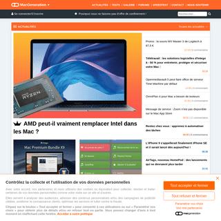 MacGeneration - Nouveautés, actualités Apple & Mac