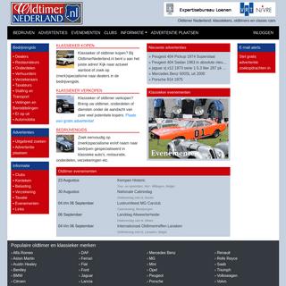 Oldtimer Nederland, klassiekers, oldtimers en classic cars