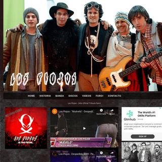 Los Piojos - Sitio Oficial Tributo Fans!