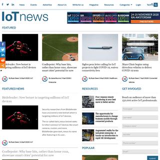 Internet of Things News - Internet of Things news and strategy