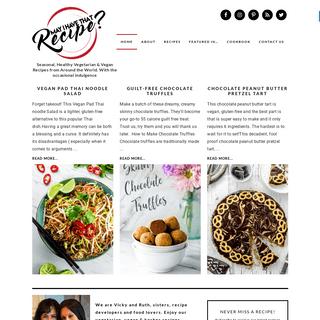 ArchiveBay.com - mayihavethatrecipe.com - Vegan, Vegetarian & Kosher Recipes with an Ethnic Twist - May I Have that Recipe