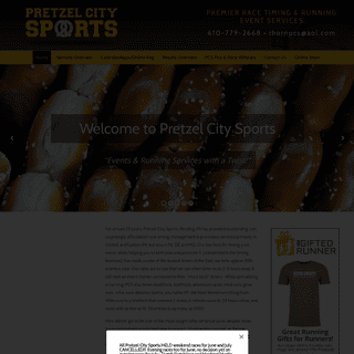 Race Timing & Running Event Services - Pretzel City Sports
