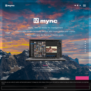 Mync- Tool for media file management