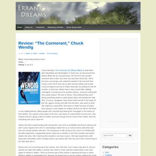 ArchiveBay.com - errantdreams.com - Errant Dreams – Book reviews of all kinds!