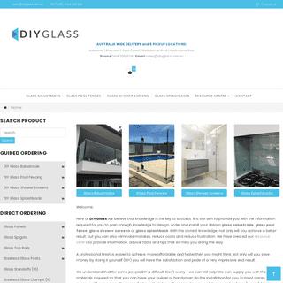 Glass Balustrade - Glass Pool Fence - Glass Shower Screens