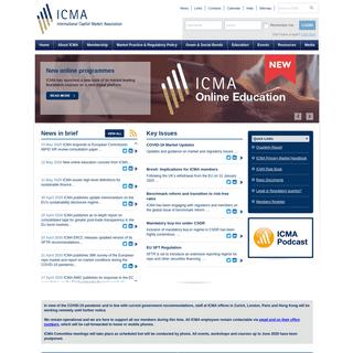 ICMA - International Capital Market Association
