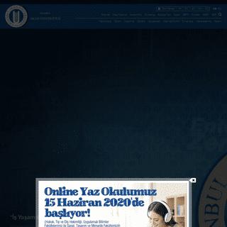 İstanbul Okan Üniversitesi - İstanbul Okan Üniversitesi