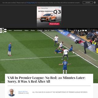 Chelsea vs Tottenham Highlights- VAR Doesn't Have A Clue