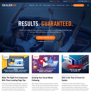 Industry-leading car dealer websites, automotive SEO & digital advertising - DealerOn