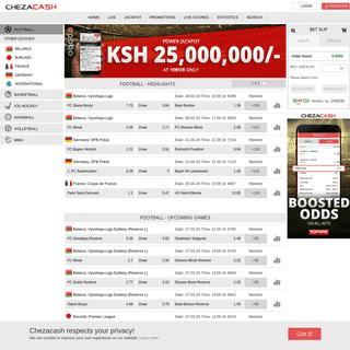Sports Betting Kenya - ChezaCash