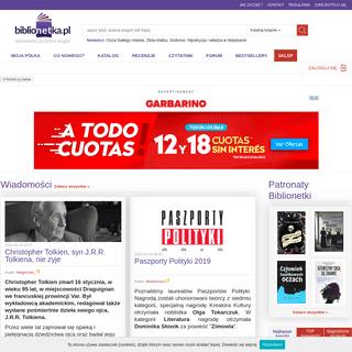 BiblioNETka.pl » książki - recenzje, opisy, opinie