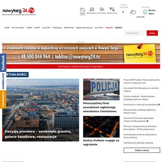 ArchiveBay.com - nowytarg24.tv - NowyTarg24.tv – Portal informacyjny nowotarskiej telewizji kablowej