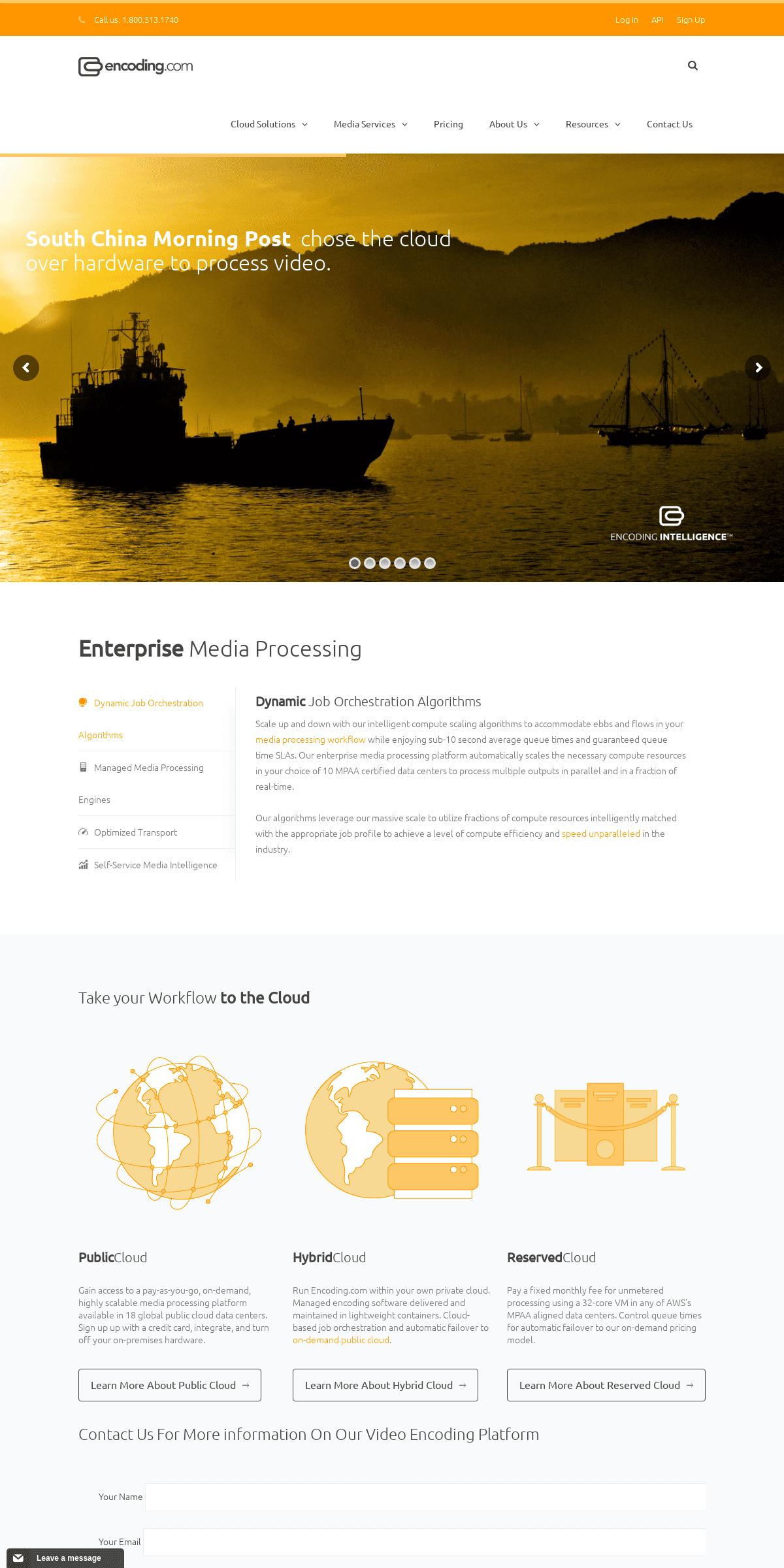ArchiveBay.com - encoding.com - Enterprise Media Processing - Encoding.com