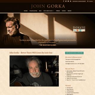 John Gorka -