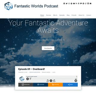 Home - Fantastic Worlds Podcast