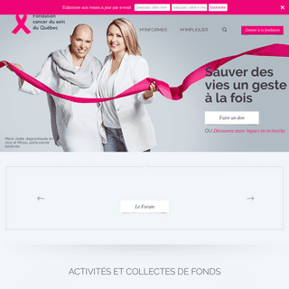 ArchiveBay.com - rubanrose.org - Fondation cancer du sein du Québec - Fondation cancer du sein du Québec