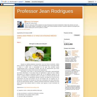 Professor Jean Rodrigues