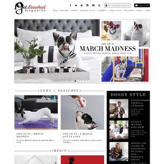ArchiveBay.com - getleashedmag.com - Get Leashed - A digital hub for modern pet owners. Lifestyle - Celebrity - Travel - Fashion - Home - Health - Tips, Treats & The