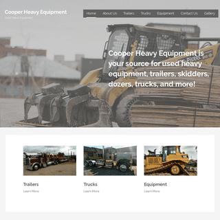 Cooper Heavy Equipment – Used Heavy Equipment