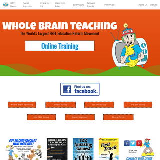 Whole Brain Teaching – The fastest growing education reform movement in the world!