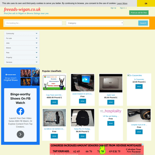 Post free ads in Wigan or Browse listings near you