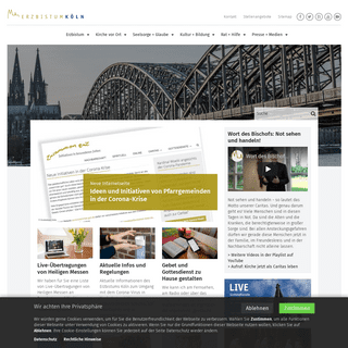 Erzbistum Köln - Katholische Kirche - Erzbistum Köln