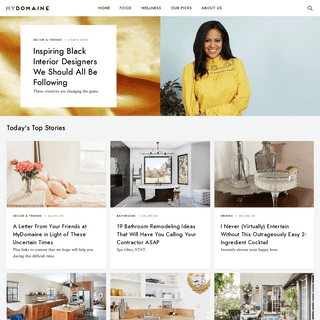 A Stylish Curation of Home Design Inspiration, Lifestyle Advice, and Trends.