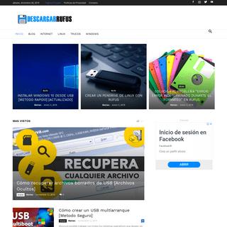 DescargarRufus.com - Otra Web hecha con Amor en Internet