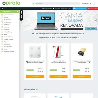 Tienda Online de Informática - Opirata